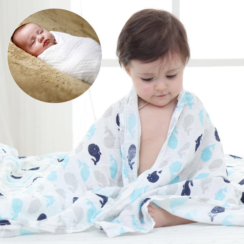 Receiving Blanket Vs Swaddling Blanket Enchanting Ins Muslin Swaddle Blankets Newborn Receiving Blanket Big Bath Towel