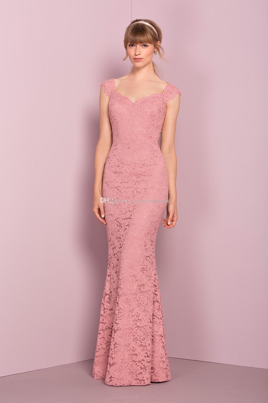 Hermosa Vestidos De Encaje Para La Boda Embellecimiento - Colección ...