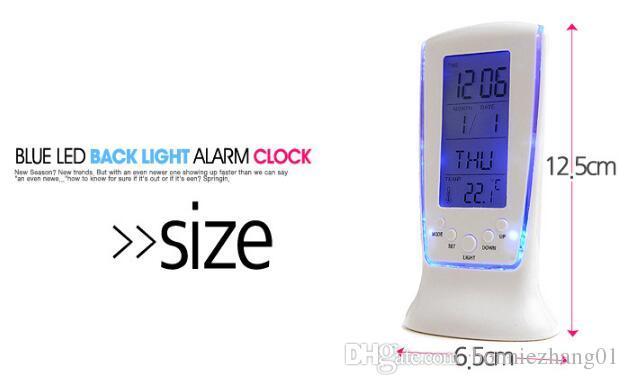 مصنع الجملة الصمام على مدار الساعة الضوء الأزرق مع تاريخ الموسيقى temp عرض 510 مربع التجزئة