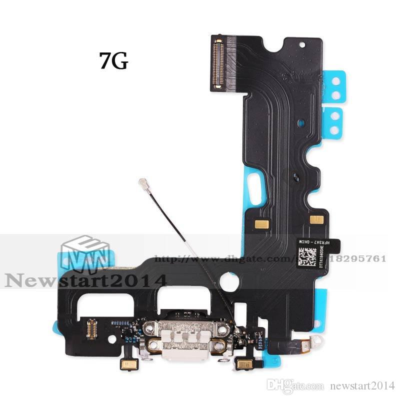 Alta qualità iPhone 7G 7 Plus Connettore USB Porta di ricarica Flex Cable Ribbon Replacement Repair Part