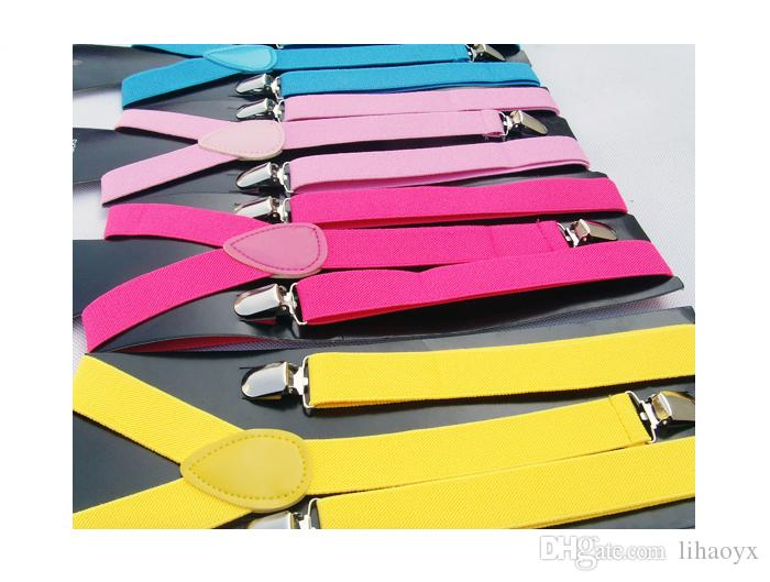 Venda quente de alta qualidade doces cor homens e mulheres devem ser calças ajustáveis Y-type colete cinta elástico jaqueta cinto estilingue ajustável DE01