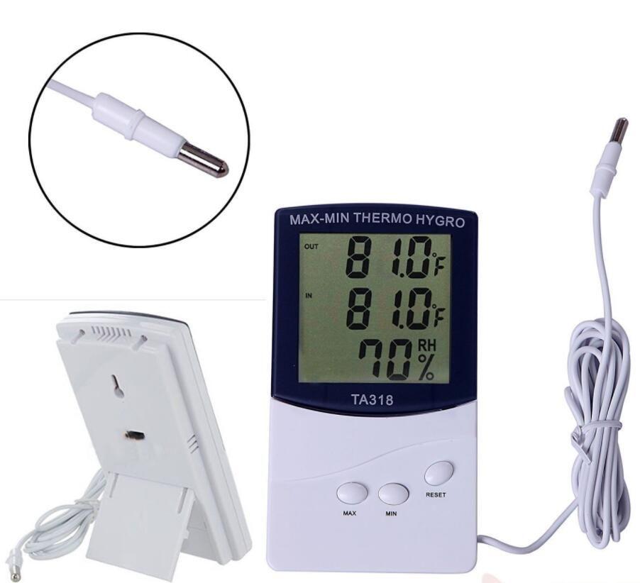 LCD 실내 / 실외 디지털 온도계 습도계 온도 습도 디스플레이 판매점 TA318 온도계