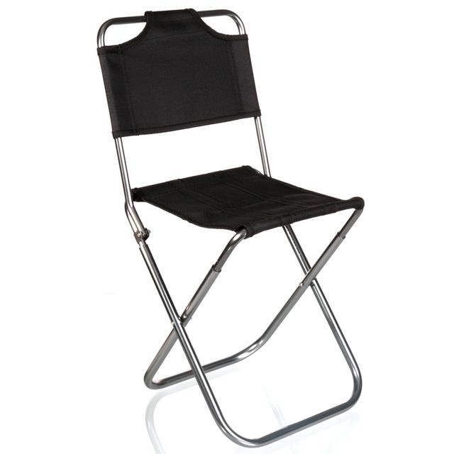 Online Cheap Wholesale Brand High Quality Black Aluminum Folding Grill  Portable Stool Chair Fishing Chairs Bag Outdoor Travel Fishing Foldable  Chair By ...