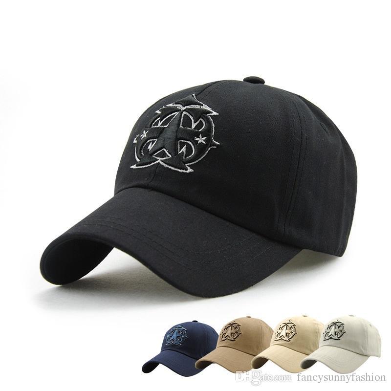 fda56c7bf86 Embroidered Caps Casual Casquette Baseball Caps Snapbacks Unisex Sports Hats  Adjustable Women And Men Sun Headware Cotton Wholesale Cheap Womens Baseball  ...