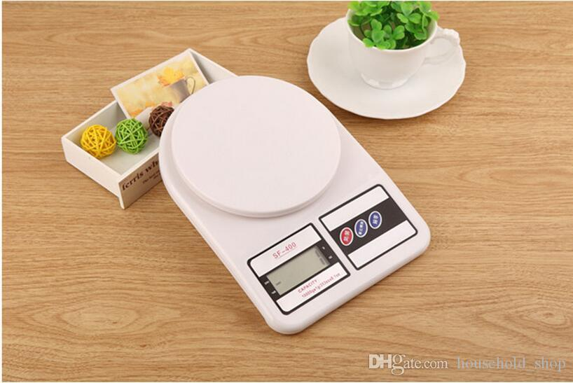 Electronic Kitchen Scale Weighing Machine Household scales Food Ingredients Herbs Accurate measurement 10KG With box 2018 Hot Sale DHL