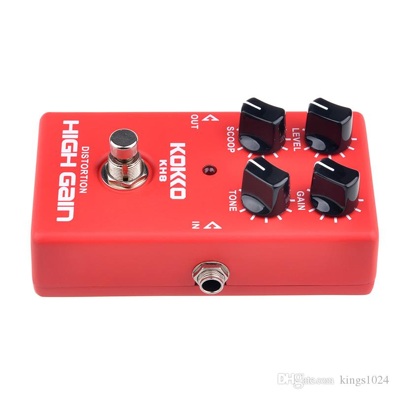 KOKKO KH8 HIGH GAIN DISTORTION Electric Guitar Effect Pedals guitar accessories