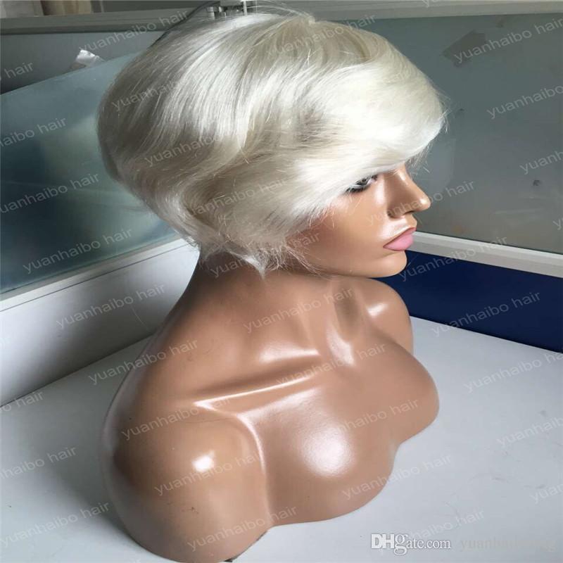 Hot Sale 6inch straight peruvian hair toupee Trump style blonde toupee for men