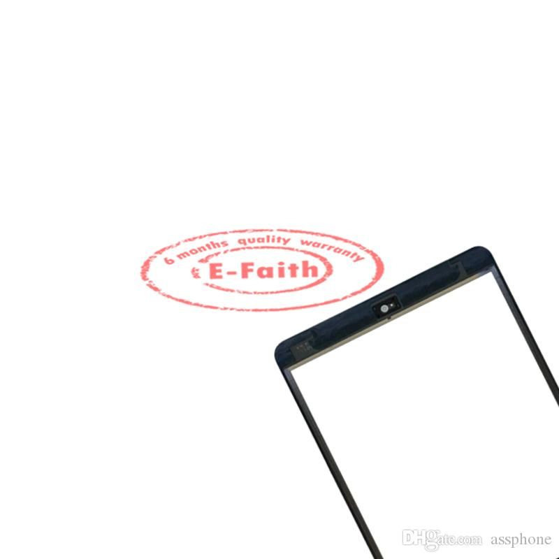 EFaith quality Digitizer For iPad mini Touch Screen + IC home button+ adhesive replacement & Free DHL Shipping