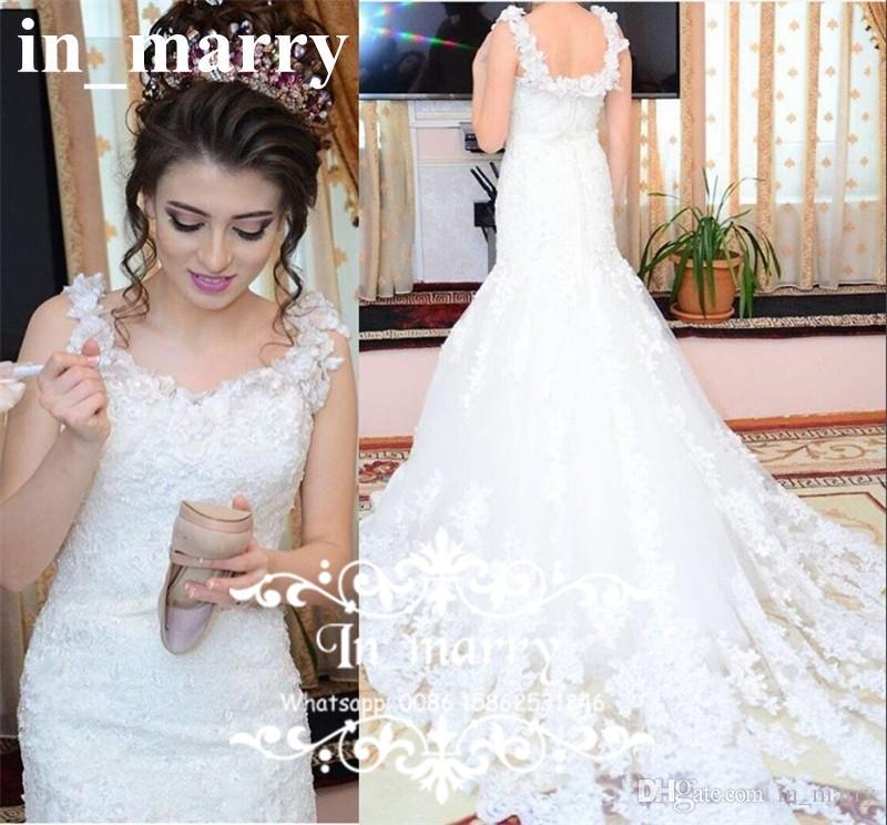 Großhandel Reizvolle 3d Blumennixe Australische Hochzeits Kleider ...