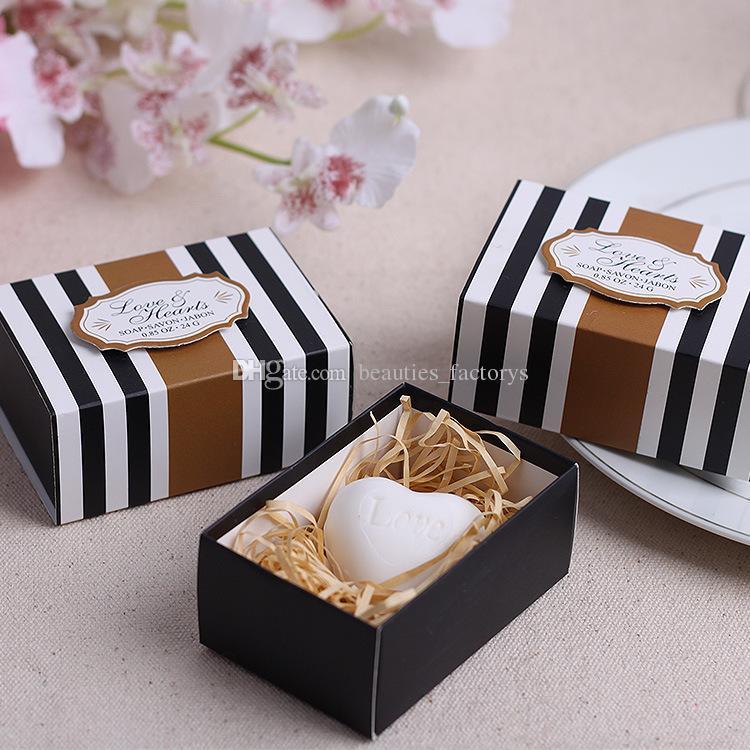 Wedding Favors Heart Shape Soap Gift Box Cheap Practical Unique
