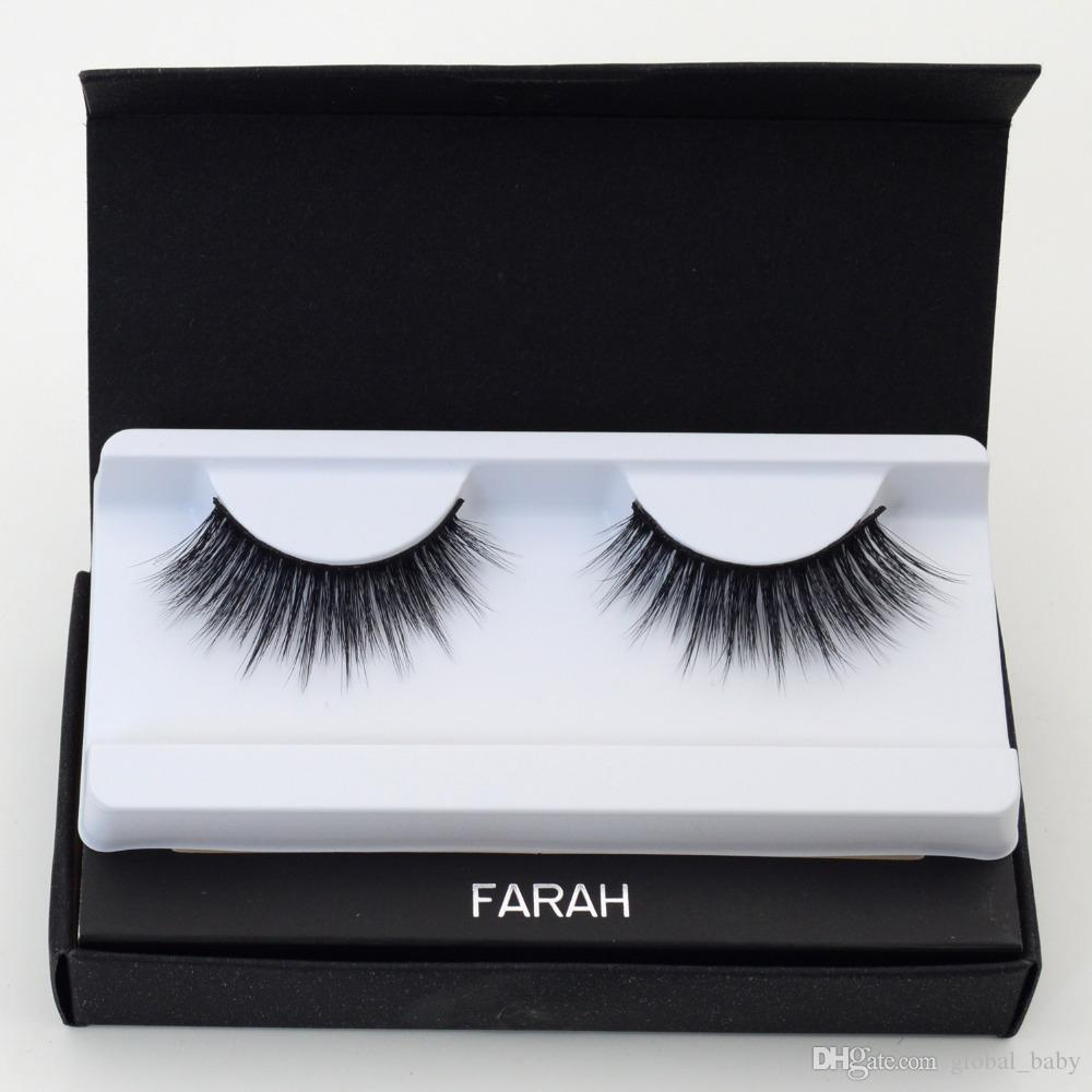 e21afcd507a 20 Styles 3D MINK False Eyelashes Messy Cross Thick Natural Fake Eye Lashes  Professional Makeup Handmade Exquisite Packaging False Lashes Eyelash  Growth ...