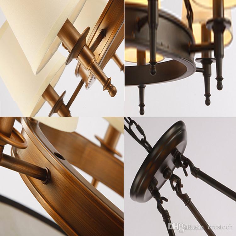 Pendelleuchte American Country Wohnzimmer Pendelleuchte Kronleuchter Einfache Eisen Esszimmer Schlafzimmer Arbeitszimmer