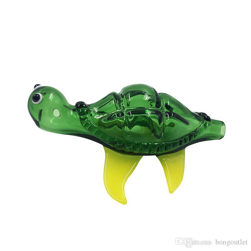 5,2-Zoll-Glaspfeife Herstellung mundgeblasenem und schön in Handarbeit Löffel Rohr Aus hochwertigen