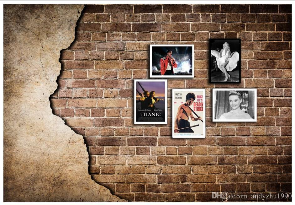 3d Photo Wallpaper Custom Size 3d Wall Murals Retro Brick Wall Wallpaper  Picture Home Decoration Mural Wall 3d Mural Wallpaper Free High Res  Wallpapers Free ...