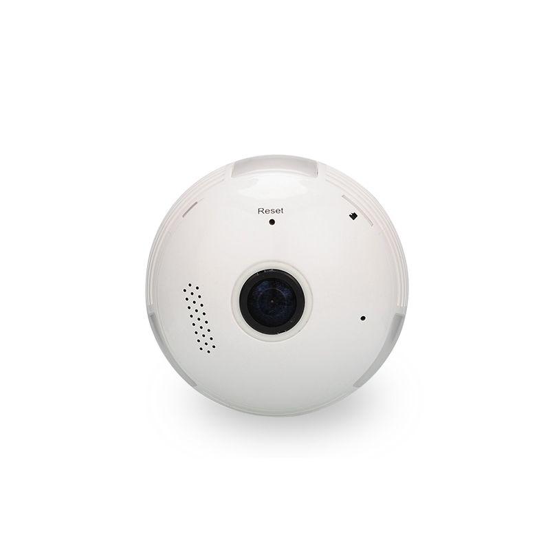 HD WIFI led Bulb camera GLobe Panorama Cam 360 degree Light bulb P2P IP camera motion detection alert two way communictaion