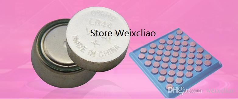1 AG13 LR44 303 357 357A SR1154 SR44 A76 L1154 LR1154 1.55V alkaline button cell battery coin batteries tray