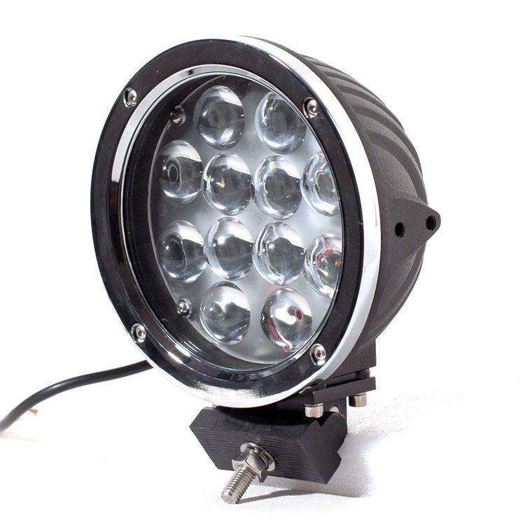 Aşırı Parlak led çalışma ışığı, 7 '' c-r-e-e 60w süper parlak led çalışma ışığı kamyon SUV ATV Offroad 4x4 için