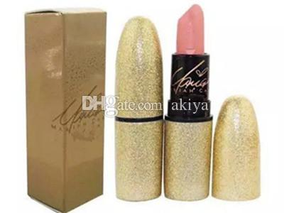 2017 NEW Brand Riah Carey matte lipstick Collection English Name Beautiful with Gold box / Silver box DHL