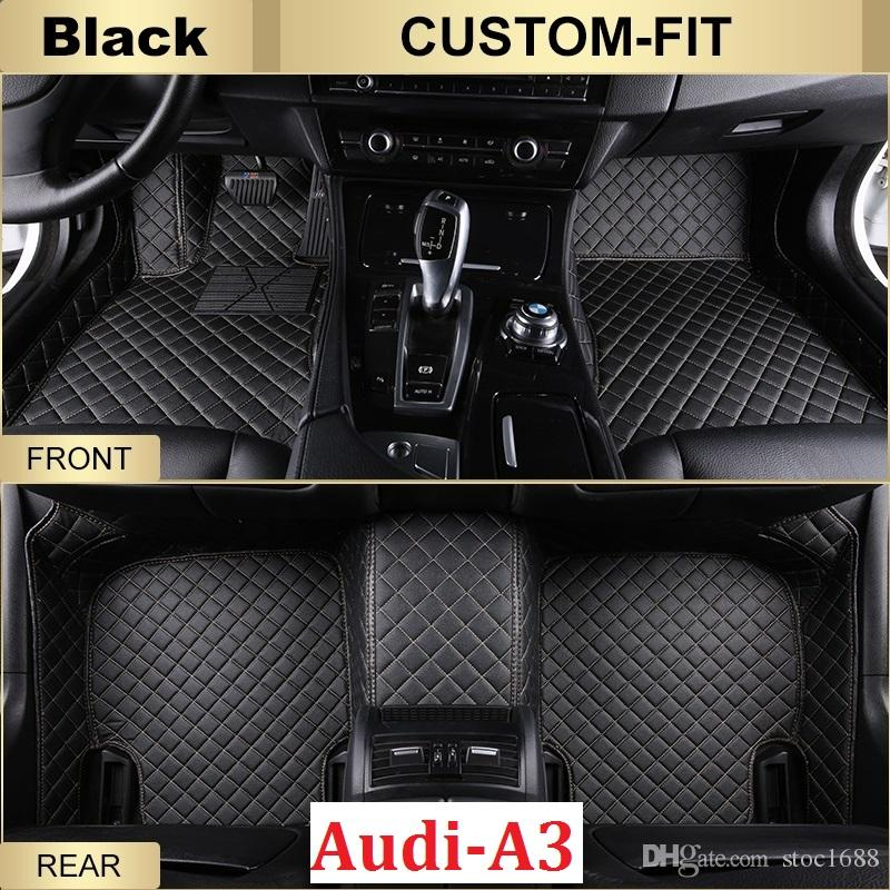 Online Cheap Scot All Weather Leather Car Floor Mats For Audi A - Audi car mats