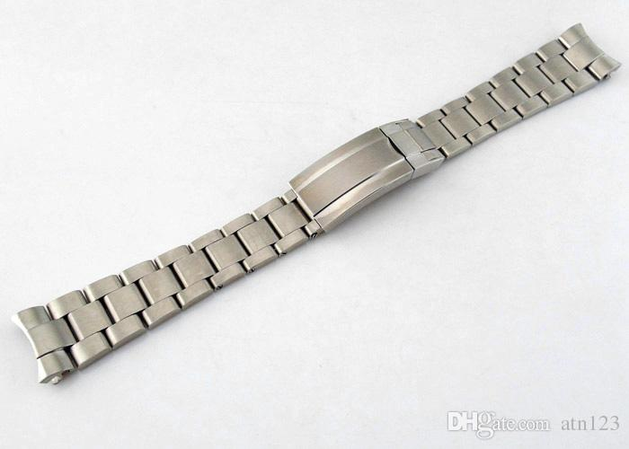 Corgeut 21mm 316L Solid Stainless Steel Watchband Watch Bands With Buckle Watch Straps For Men Watchbands Mens Bands Replacement P400