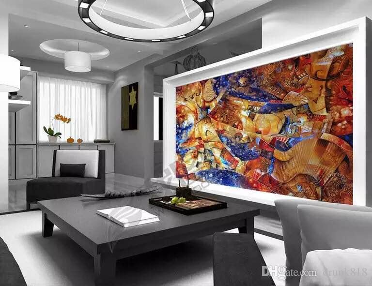 Wall Paper Wall Painting Living Room Ktv Bar High End Luxury Background  Wall Paper Abstract Art Star Layer Seamless Cloth Quality Wallpapers High  Resolution ...