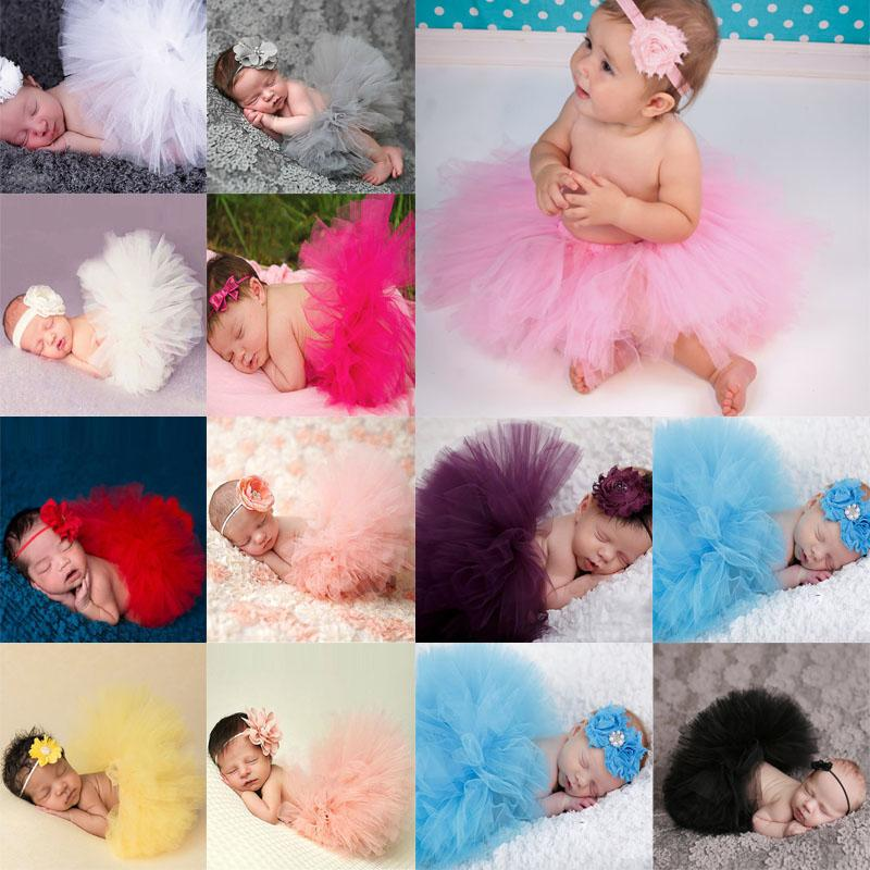 Wholesale newborn photography props infant costume outfit princess baby tutu skirt headband baby photography props baby skirt la986711 skirts womens skirt