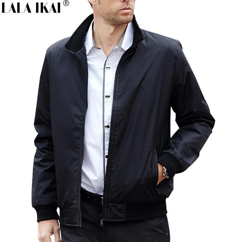 Compre Moda Chaquetas De Primavera Hombres Chaqueta De