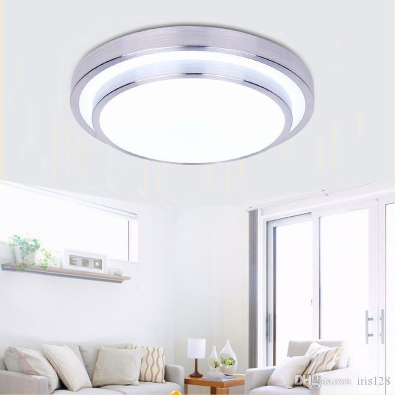 Round Double Side LED Ceiling Light Bedroom L& Indoor Lighting 12W 18W 24W Cool White Warm White Dimmable Ceiling Light Ceiling Lights Flush Mount L& ...  sc 1 st  DHgate.com & Round Double Side LED Ceiling Light Bedroom Lamp Indoor Lighting 12W ...