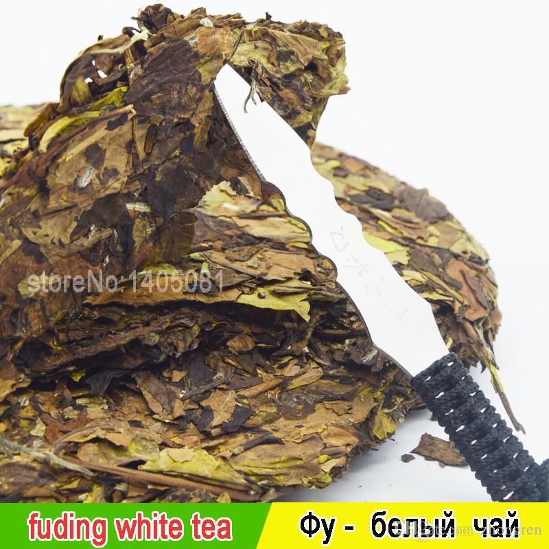 350 cejas de té blanco orgánico muestran la torta de Estados Unidos Fuding té comprimido té blanco cake + mystery gift