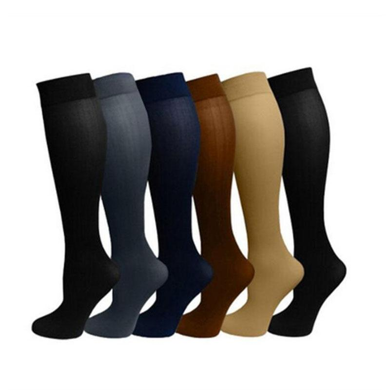 david angie Compression Socks Unisex Men Women for Varicose Relief Miracle Copper Leg Support Stretch knee high socks