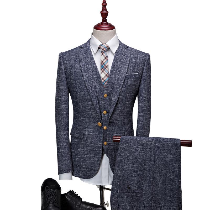 Wholesale- Latest Coat Pant Designs Mens High Quality Party Suit ...