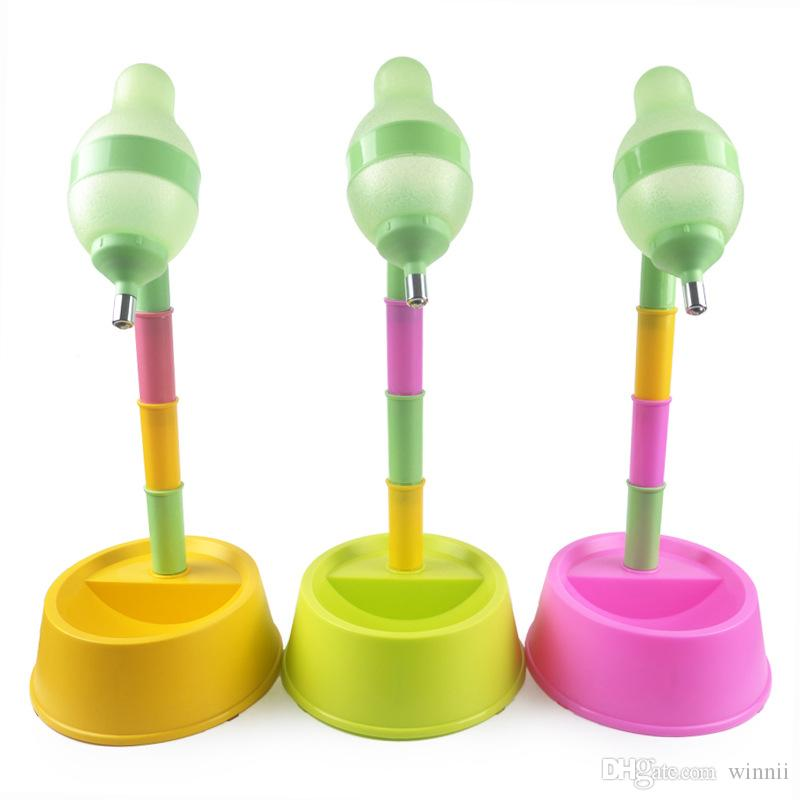 Automatic Pet Water Dispenser Food Stand Feeder Bowl Bottle Plastic Dog Cat Drinking Fountain Food Dish Pet Bowl