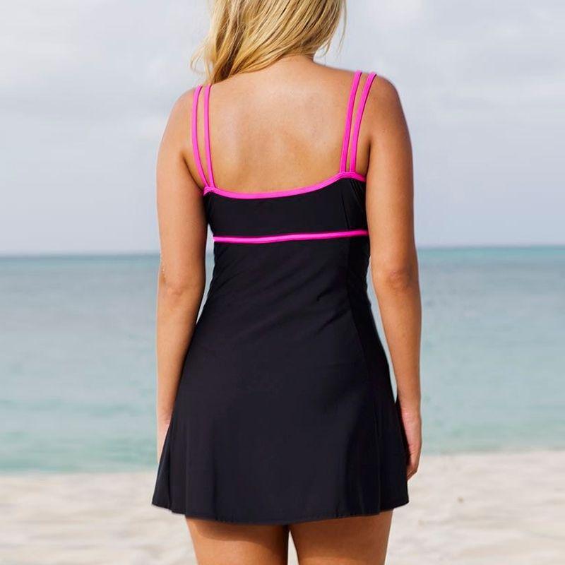 e9d905c7293 2019 One Piece Swimsuit 2017 Swim Skirt Swimwear Plus Size Thong Bathing  Suit Brazilian Women Swimming Wear Push Up Vintage Monokini From Jerry05