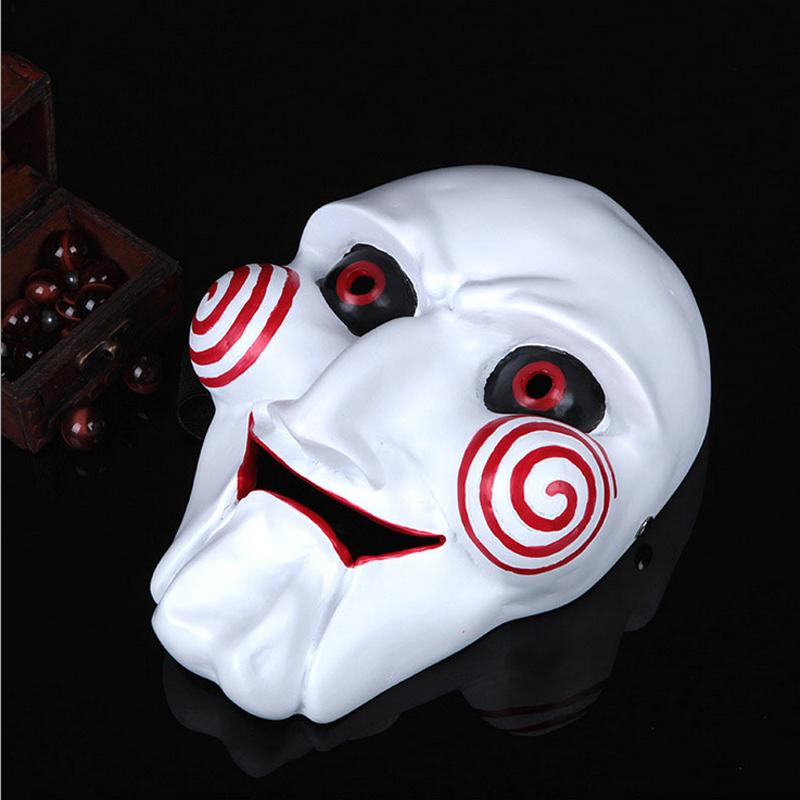 High Quality Resin Grimace Saw Mask Party Masquerade Cosplay Movie Game Full Face Mask Scary Creepy Halloween Mask