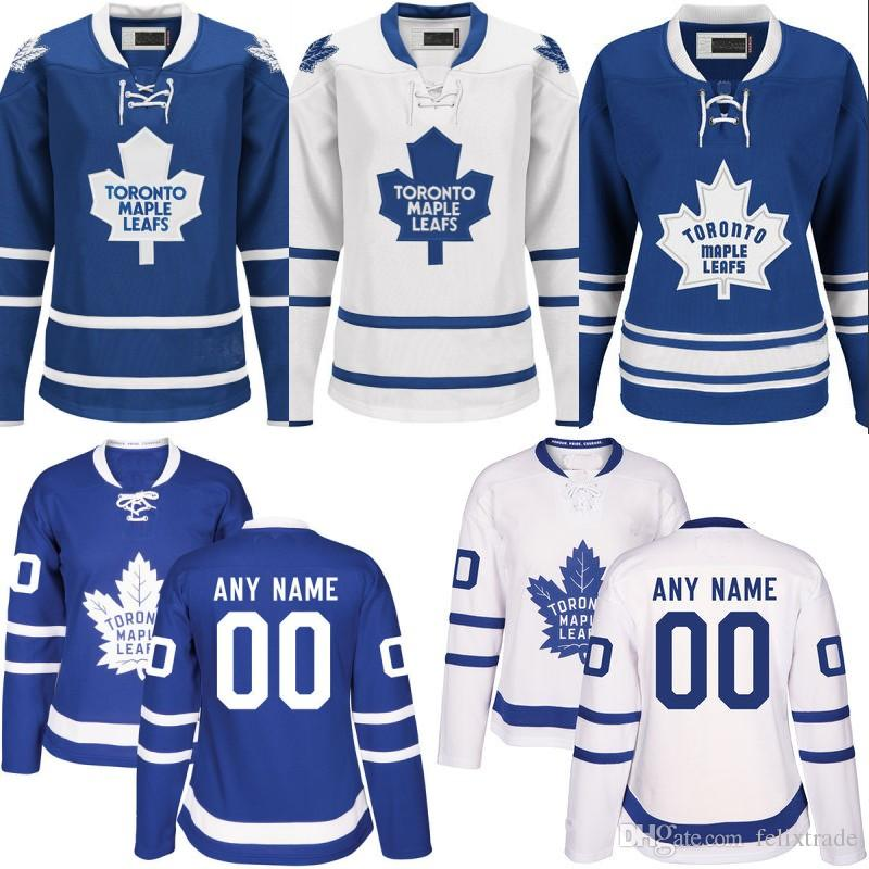 quality design a6e2e e44f4 Womens 2017 Toronto Maple Leafs Jersey 42 Tyler Bozak 11 Zach Hyman 43  Nazem Kadri 47 Leo Komarov Cheap Stiched Custom Hockey Jerseys