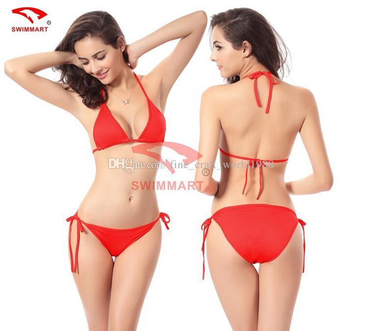nuovi costumi da bagno in pizzo con volant da donna Costumi da bagno sexy da spiaggia con fondo alto Bikini a fascia Costume da bagno trasparente Costumi da bagno sexy