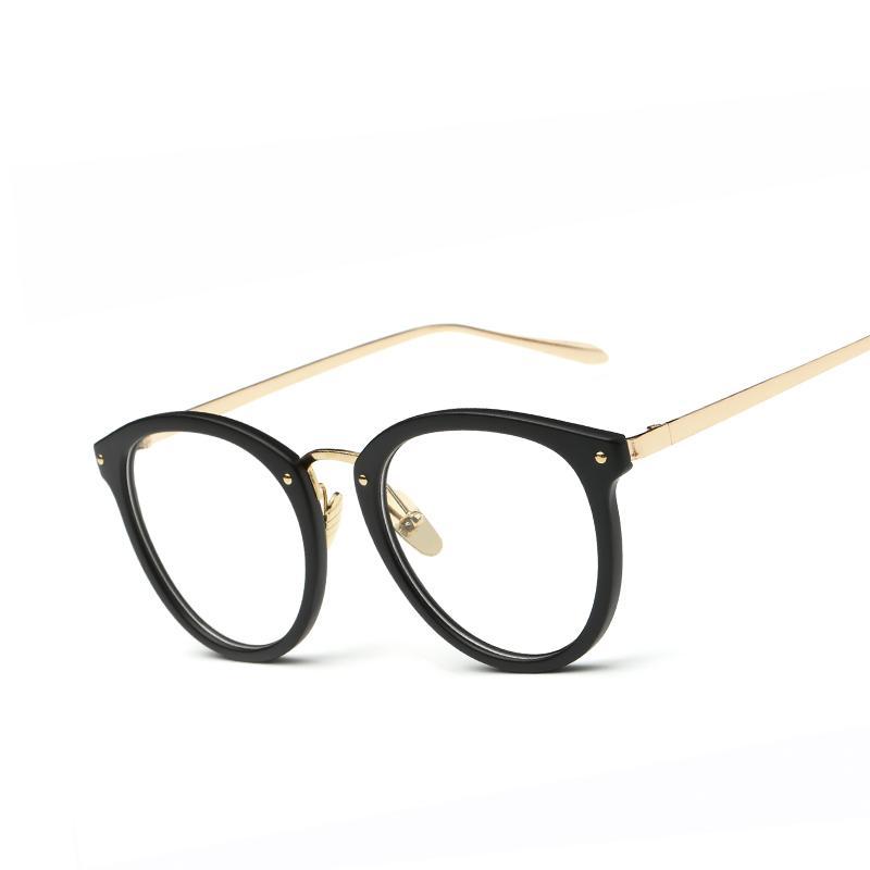 2018 Wholesale Vintage Fashion Women Cat\'S Eye Glasses Brand ...