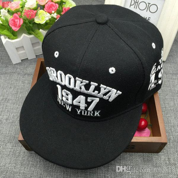 2018 1947 Brooklyn Style Baseball Cap Hat Gorras Planas Snapback Caps New  York Hip Hop Hats Snapbacks Casquette 2017 Polo Cap From Mic518 ca9ad17cda0