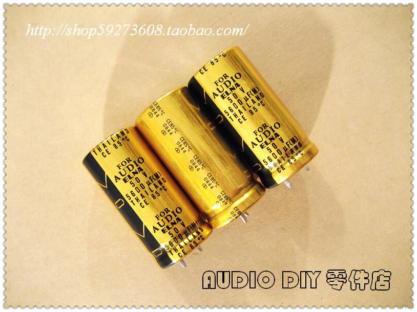 2019 elna for audio lao 5600uf  50v electrolytic capacitors