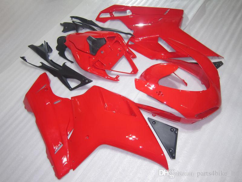 Nieuw Hot voor Ducati Gloednieuwe Carrosserie Body Cover 848 1098 1198 07-08 1098S 1198S 2007 2008