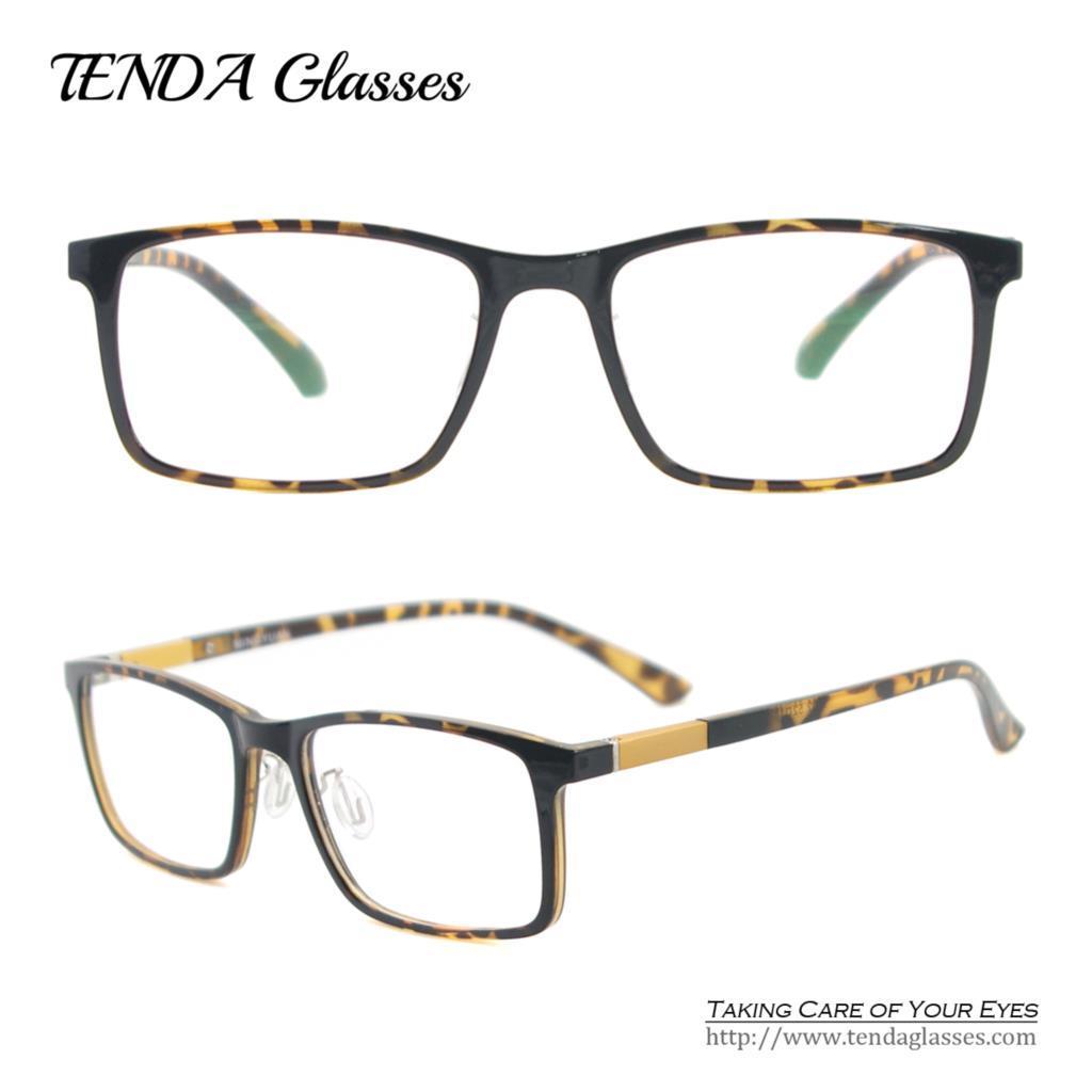Wholesale- TR90 Lightweight   Flexible Rectangle Eyeglass Frame Men ... ba7ac057b9