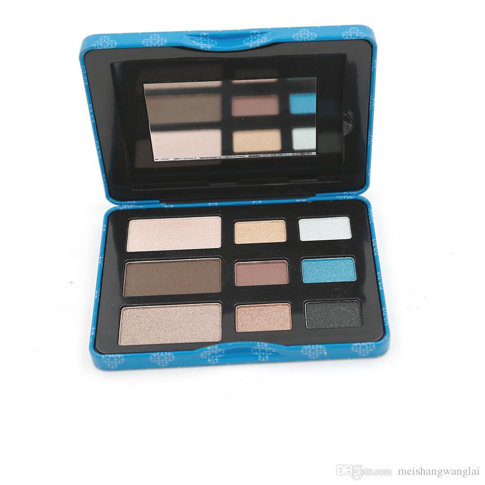 Cosméticos de paleta de maquillaje Set New The Shade For Eyes Paleta de sombra de ojos a es Paleta de sombras de ojos Kit de maquillaje de marca Sombra de ojos