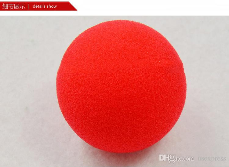 Factory Price Magic Red Sponge Ball Clip Circus Clown Nose Comic Party/Christmas party as gift