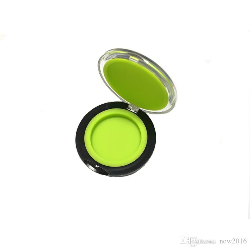 Clam Shell Silicone Dab Concentrate Containers 6 Ml Non-Stick Silicone Container Oil Slicks
