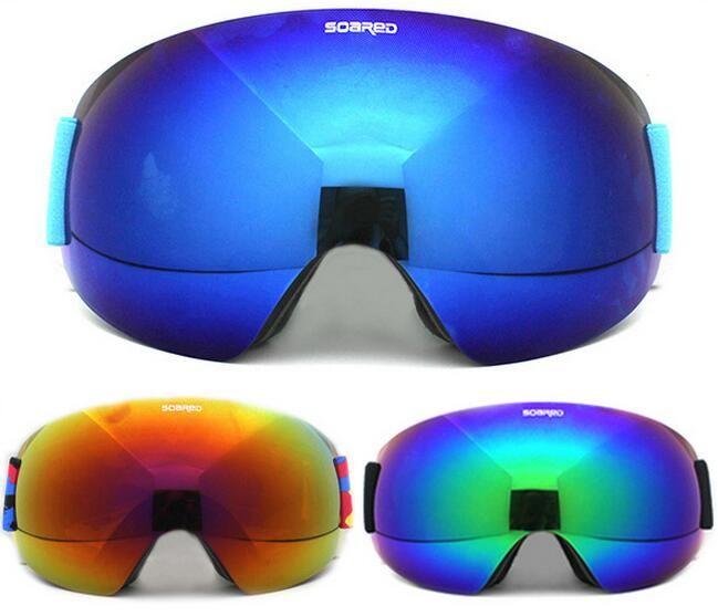 945ce45c370c Wholesale- SOARED Men Women Snowboard Skate Eyewear Double Layer ...