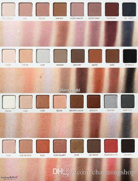 2016 New Limited EditionCosmeTics Lorac Mega Pro 3 Palette Eyeshadow 32 Kolory Paleta Shimmer Matte Brands Eye Shadow Palette Makeup