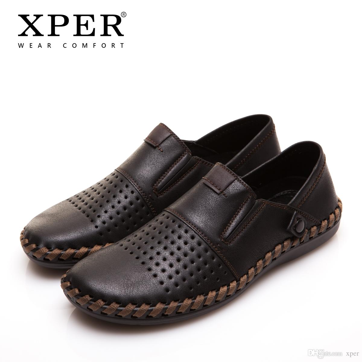 Fashion Luxury Men Casual Shoes Slip-on Mocassins Men Loafers Breathable Size YMD86688BL/BN
