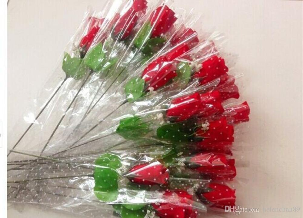 Beautiful Artificial Rose Flowers Home Decoration Supplies Festive Party Valentines Day Fake Flower Gifts
