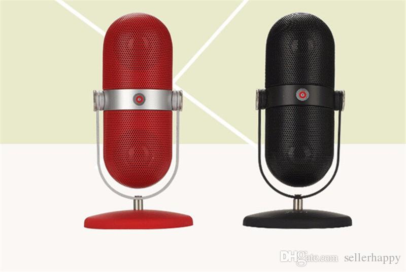 JY-13 Pill Speakers Built-in Microphone Mini Bluetooth Low-stress Pills Portable Card Outdoor Speaker With Package Box