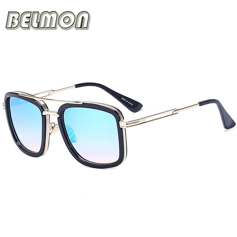 a6b1da8e7a0 Wholesale Belmon Fashion Sunglasses Men Women Luxury Brand Designer Sun  Glasses For Male Female Oculos Ladies Uv400 Anti Reflective Rs224 Mirrored  ...
